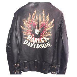 Harley Davidson Vintage Leather Jacket